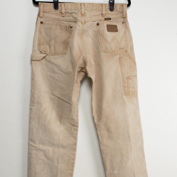 Vintage Wrangler Carpenter Pants- Boot Zipper
